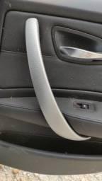Kit aplique puxador BMW 130i 3.0 2011 aço escovado