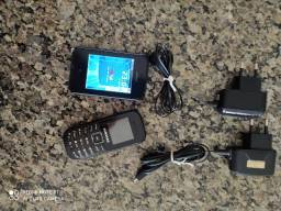 Kit celular Nokia Asha e Samsung GT-E1200