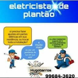 Título do anúncio: Eletricista Hugo BARROS qualidade e garantia