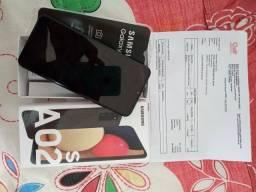 Vendo celular Samsung Galaxy A02s novo lacrado valor abaixo da loja