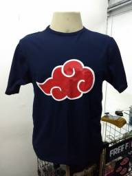 Camisetas Animes (Akatsuki e Clã Uchiha)