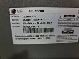 Smart tv LG 42 LB5800 Semi nova