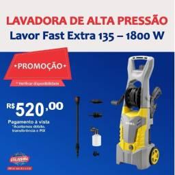 Título do anúncio: Lavadora de Alta Pressão Lavor Fast Extra 135 ? 1800 W