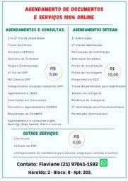 Agendamentos e serviços