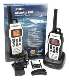 Rádio VHF portátil na promoção