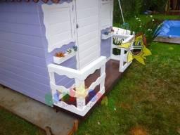 Casinha de boneca Pequena - Lilas
