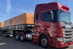 Título do anúncio: Scania R500 ano 2020 Rodotrem Graneleiro Rondon 2021 com Serviço