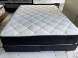 cama box queen size latex - entrego