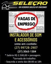Título do anúncio: Instalador se som e acessórios para Veiculos