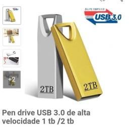 Título do anúncio: Pen drive 2TB 3.0