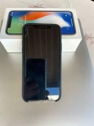 iPhone X 256GB Cinza Espacial Perfeito