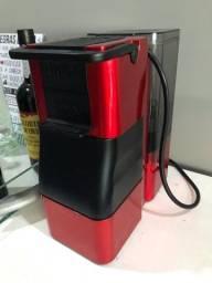 Cafeeira 3 corações + cápsula reutilizável