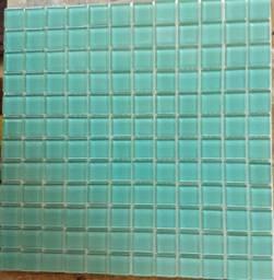 Título do anúncio: Pastilhas de vidro Cristal 2,3cm Verde Água