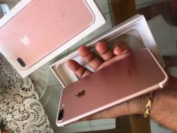 Título do anúncio: IPhone 7 Plus 128 G Rose
