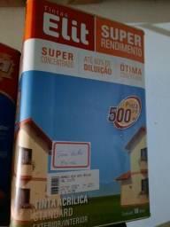 Oferta tinta semi brilho 18L cores claras ( lavável) rende 500m² na Cuiabá tintas  .