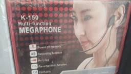 Megafone caixa de som portatil