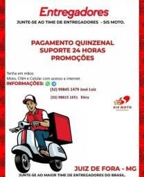 Título do anúncio: Vaga  - entregador moto boy