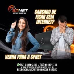 Título do anúncio: Internet Spnet