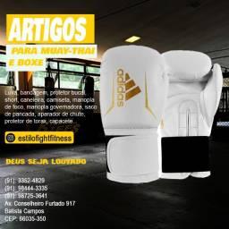 Luva Adidas muay-thai e boxe Adidas speed 50