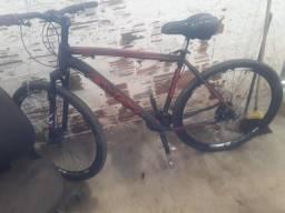 Bicicleta aro 29 aceito cartões divido com o juro da maquininha