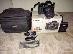 Câmera fotográfica Canon EOS Rebel T6
