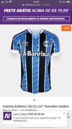 Camisa Grêmio nova