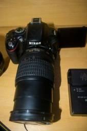 Câmera Nikon D5100 +  18-55  e  18-105