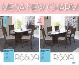 Mesa de jantar com 6 cadeiras por 819,00