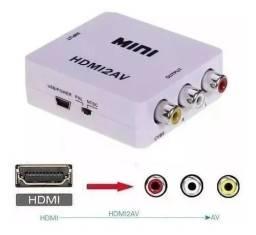 Conversor adaptador  HDMI/AV