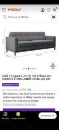 Sofa nova na embalagem