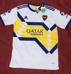 Camisa Boca Juniors Branca 20/21