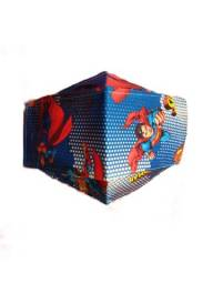 Máscaras infantis DC e Marvel