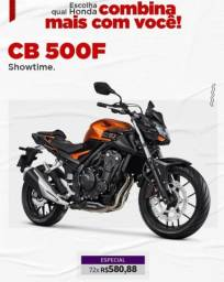 Título do anúncio: Cb 500f