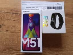 Samsung Galaxy M51 + Brinde