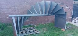 Título do anúncio: Escada caracol de ferro