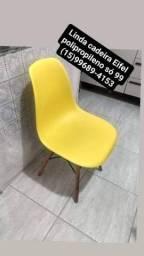 Cadeira eiffel polipropileno impecável