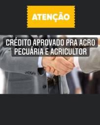 Título do anúncio: Crédito aprovado pra agro pecuária e agricultor