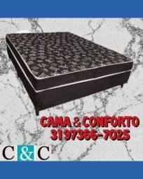 Título do anúncio: :BASE BOX: :CAMA BOX CASAL: ENTREGA GRÁTIS!!
