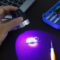 Título do anúncio: Lâmpada de luz de led uv USB para tecnicos e etc