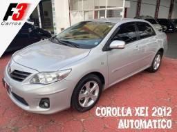 Corolla XEI 2011/2012 Automatico