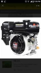 Motor a gasolina com partida elétrica - 2015