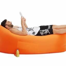 Sofa inflavel de bolsa