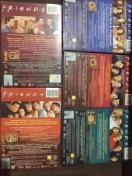 Dvds originais da serie friends 1ª,2ª,3ª,4ª e 10ª temporada
