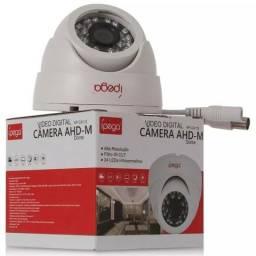 Câmera De Segurança Hibrida Ahd 24 Leds 1.0mp 720p Kp-ca112