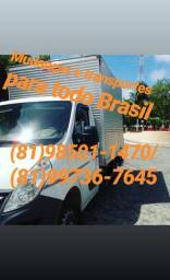 (81)98501-1470 Mudanças Eventos Transportes P/Todo Brasil