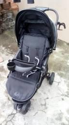 Vendo carrinho + bebe conforto