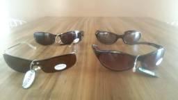 4 óculos de sol da marca Triton
