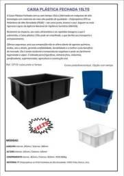 Caixas plástica organizadora 15lts na cor preta