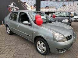 Clio sedan 1.6 2008 Completo / Impecavel - 2008