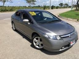 Honda Civic EXS Top Automático Ano 2008 revisão feita na autorizada apenas 64 mil kms - 2008